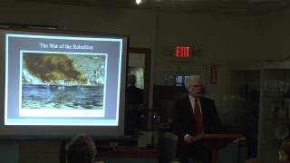 March 11, 2014 History Lecture: The Ships of Captain Bulloch with author Stephen Kinnaman