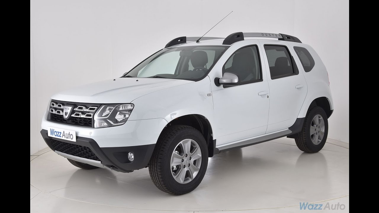 dacia duster tce 125 4x2 prestige edition 2016 essence blanc youtube. Black Bedroom Furniture Sets. Home Design Ideas