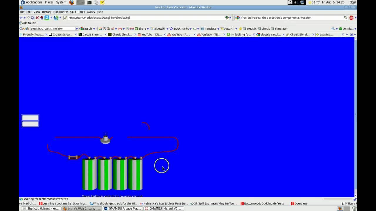 Quick Demo Of Circuit Simulation Apps Youtube Web Simulator