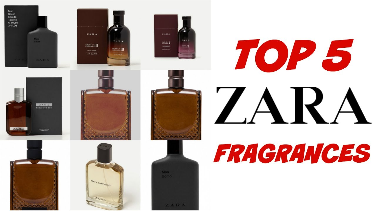 Top 5 Zara Fragrances 2017 Youtube