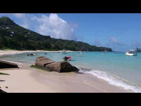Stranden i Anse Royale