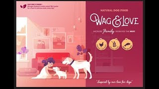 Dog Food: Wag and Love ( Super Premium Food Now in India )