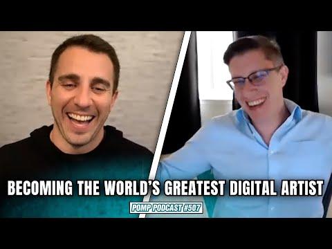 Becoming The World's Greatest Digital Artist I Beeple I Pomp Podcast #507