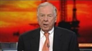 Pickens Says Oil to Top $100 a Barrel by Year