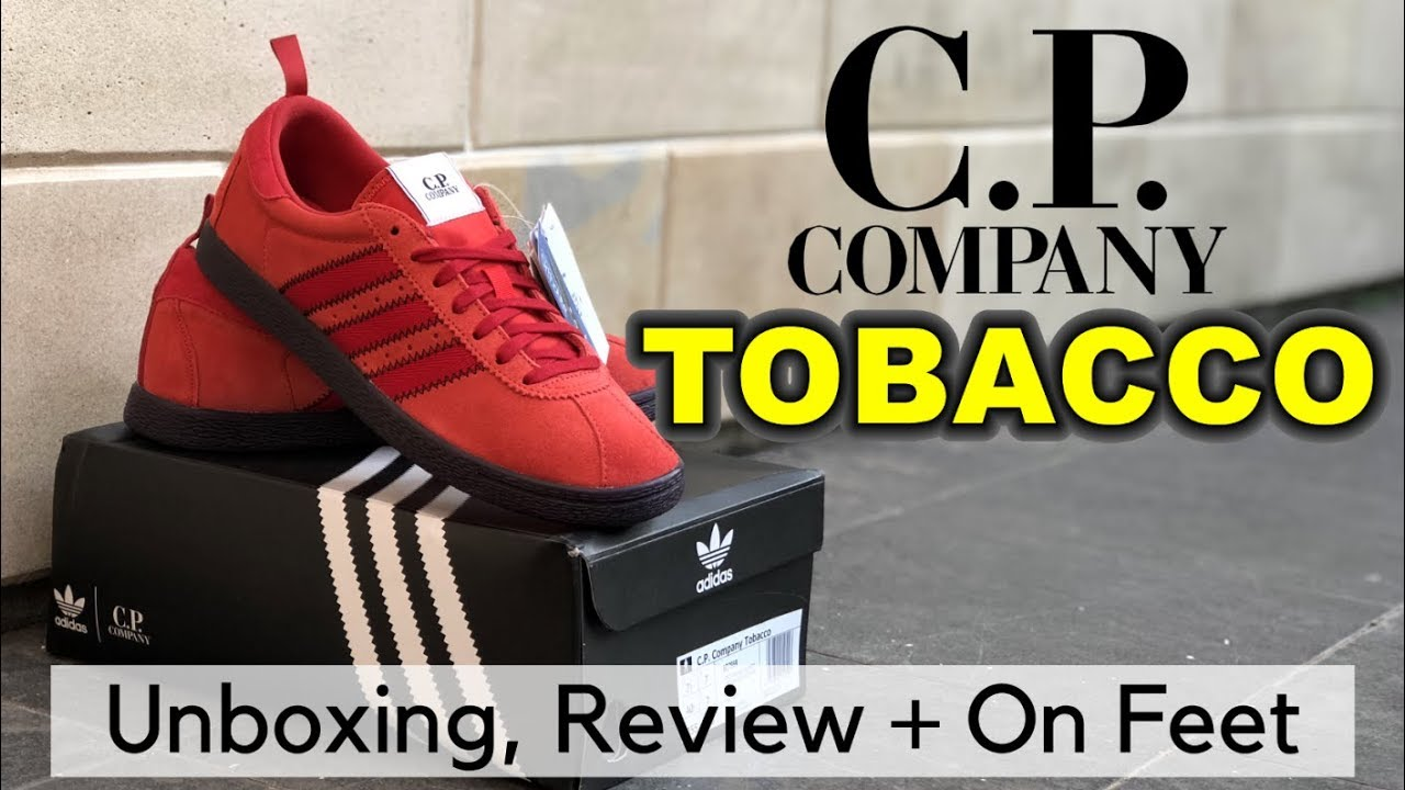 info for 183ca 34990 ADIDAS TOBACCO X C.P. COMPANY | Unboxing, Review + On Feet | EK18VLOG#134