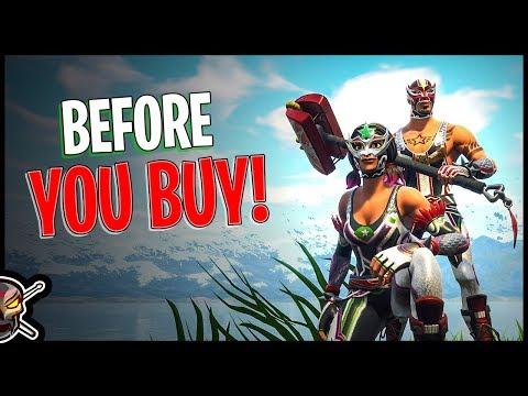 Dynamo | Masked Fury | Libre Glider | Piledriver Harvesting Tool - Before You Buy - Fortnite