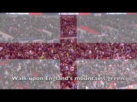 National Anthem: England - Jerusalem