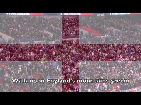 National Anthem: England  Jerusalem