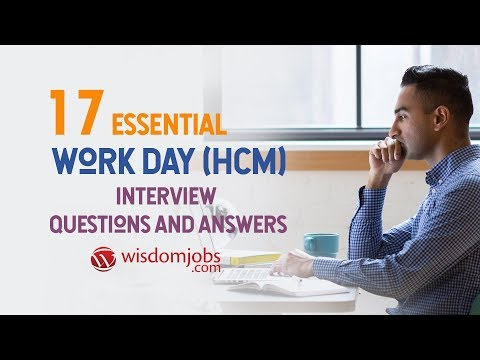 Workday hcm interview questions