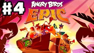 Angry Birds Epic - Gameplay Walkthrough Part 4 - The Blues and Pirates! (iOS, Android)