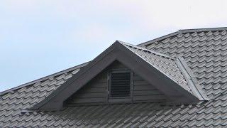 2014-5. Слуховые окна вальмовой крыши. Холодный чердак