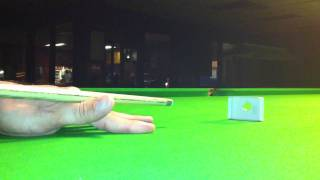 Snooker centre cueball Matchbox routine