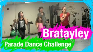 BRATAYLEY TAKES THE PARADE DANCE CHALLENGE - WDW Best Day Ever