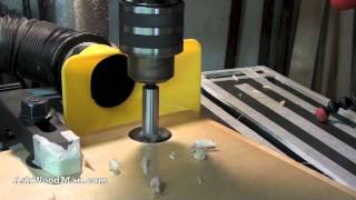 How To Collect Dust On A Drill Press - Dust Collection In The Workshop