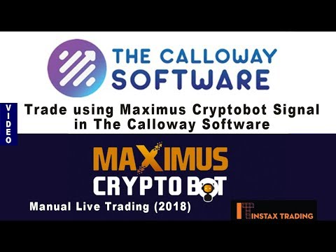 Trading With The Calloway Software Broker Using Maximus