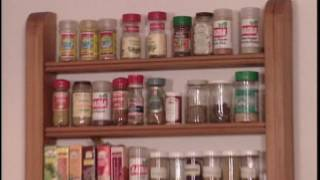 Keep your seasonings well organized and within arm