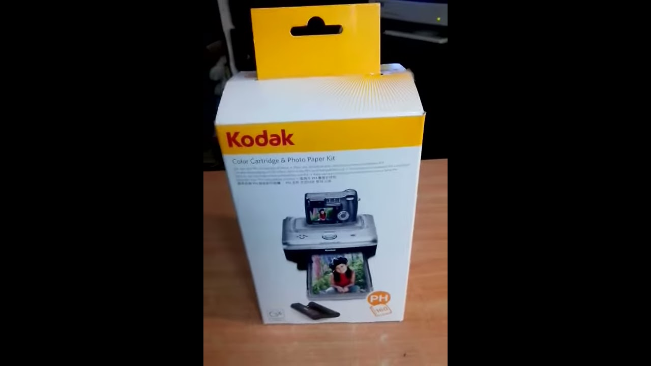 Papel Fotografico Kodak Para Impresoras Easy Share Youtube