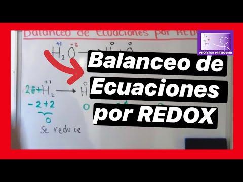 Balanceo de ecuaciones por método REDOX 1