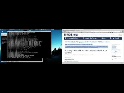 ROS Short Course Module 04: URDF and Robot State Publisher