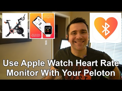 Peloton Bike And Apple Watch Heart Rate Monitor Sync