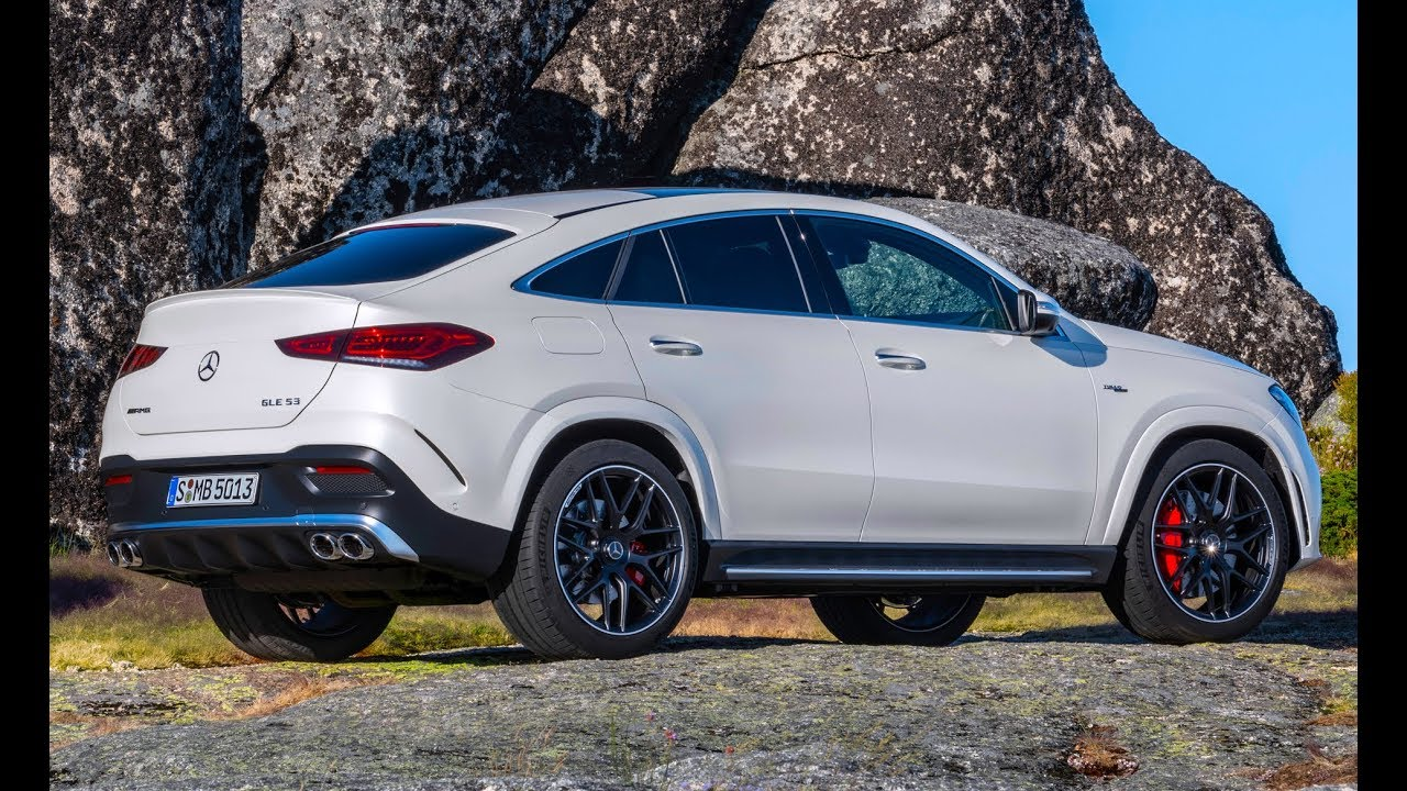 2021 Mercedes-AMG GLE 53 Coupe – More luxury, more coupe - YouTube