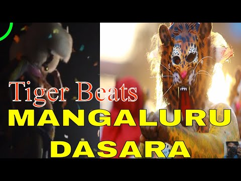 Mangalore Dasara 2017 - Tiger beats
