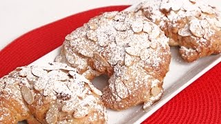 Almond Croissants Recipe - Laura Vitale - Laura in the Kitchen Episode 964