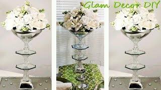 Dollar Tree DIY Glam Mirror Wedding Centerpiece