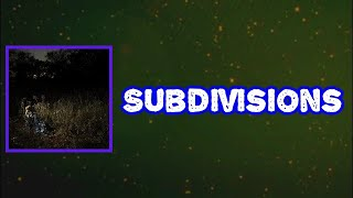 The Weather Station - Subdivisions (Lyrics)