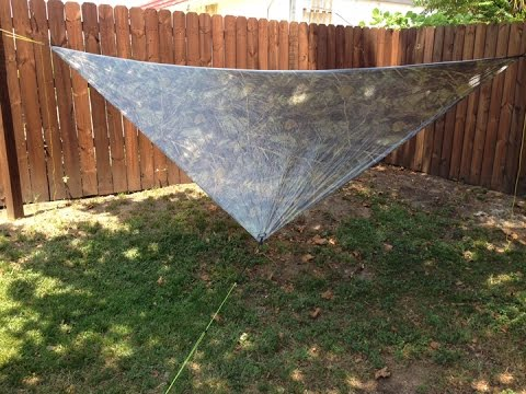 ultralight tarp set up   youtube  rh   youtube