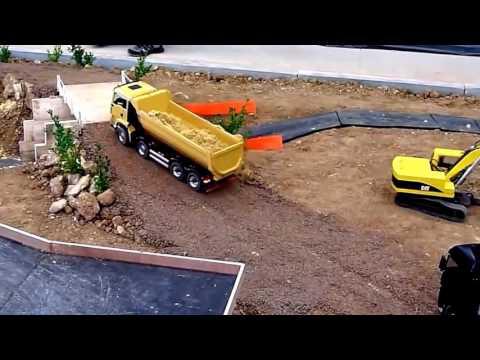 mobil truk pasir remot