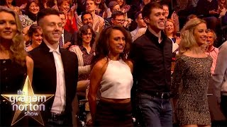 The Audience Perform An Amazing Irish Dance - The Graham Norton Show