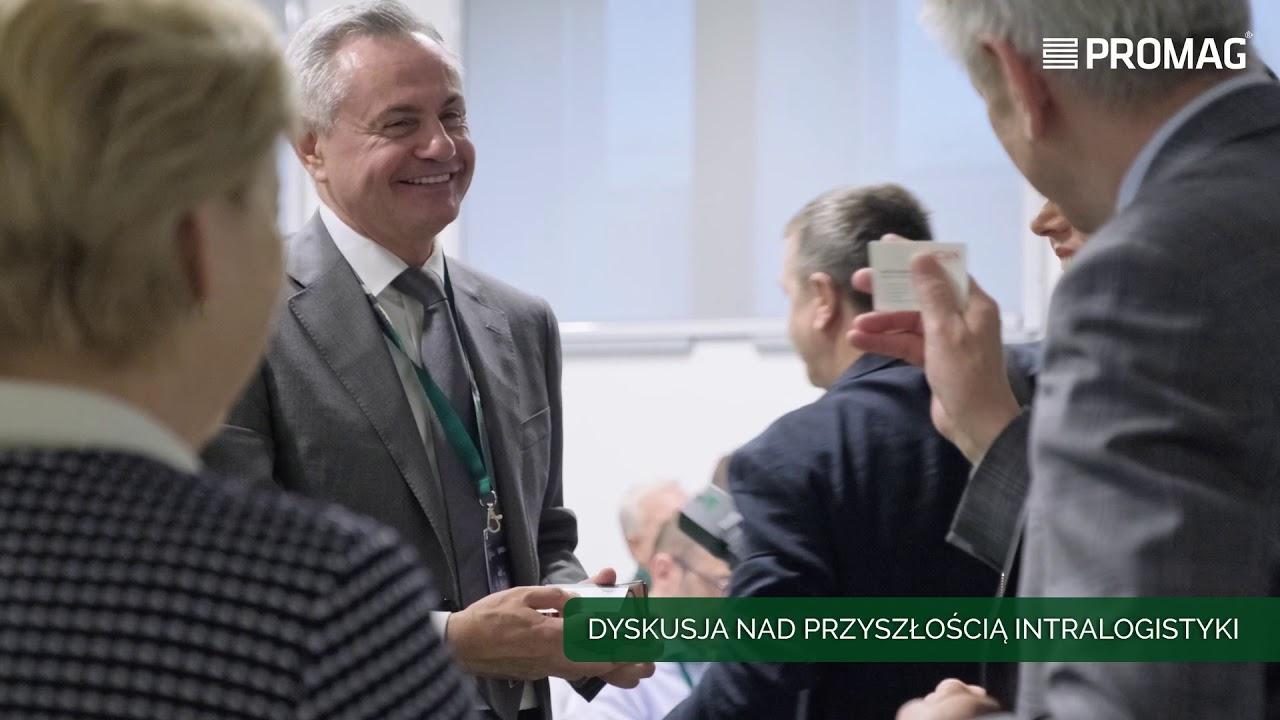 """V Forum MAGAZYN PRZYSZŁOŚCI """"INTELIGENTNY MAGAZYN"""" czyli nowe technologie w intralogistyce"""