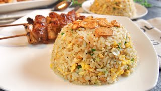 SECRET REVEALED! BEST Garlic Fried Rice 蒜蓉炒饭