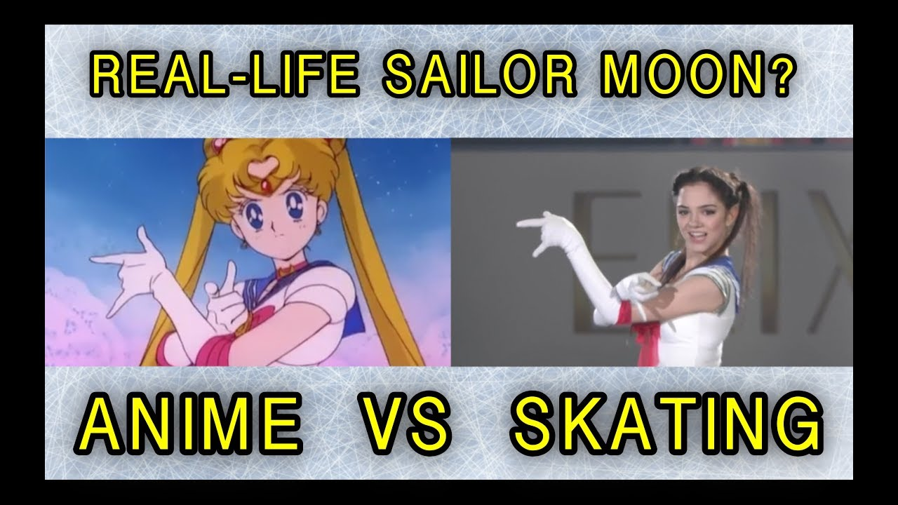 Japanese conquered the Russian figure skater in the image of Sailor Moon