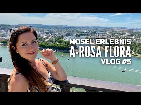 Mosel Kreuzfahrt mit A-ROSA Flora - Vlog #5: Koblenz auf eigene Faust
