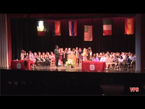 12th Annual World Language Honor Society Induction Ceremony