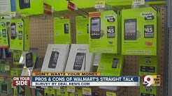 Pros and cons of Walmart's Straight Talk plans