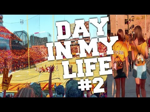 COLLEGE DAY IN MY LIFE #2 // KIM K LOOK-A-LIKE AND ARIZONA STATE HOMECOMING GAME
