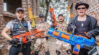 LTT Game Nerf War : Captain Warriors SEAL X Nerf Guns Fight Braum Crazy Battle Royale