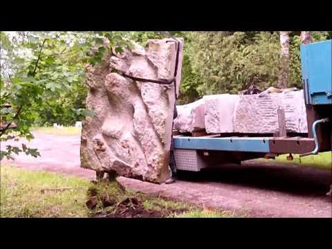 Sculptur, Stein, Stone, Art, Kunst, Art on wheels, Skulptur, Künstler Richard Vinotti