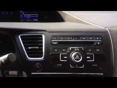 Honda Civic Satellite Radio System