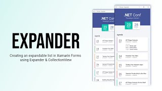 Xamarin.Forms Expander | Create Expandable List in Xamarin Forms