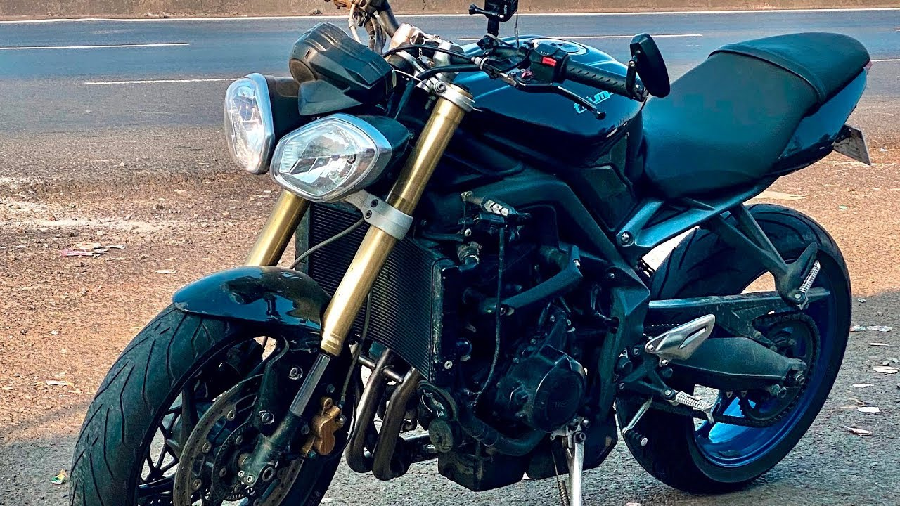 Triumph Street Triple Full System Exhaust Note