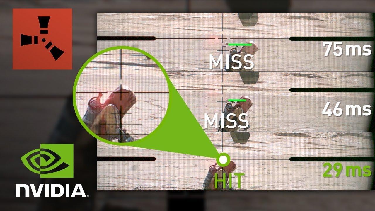 NVIDIA Reflex в Rust на GeForce | СЛОУ-МО Видео