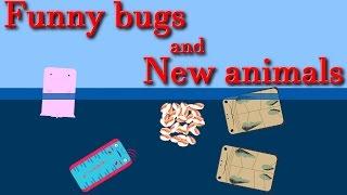 Deeeep.io all animal ||  New animals and funny bugs