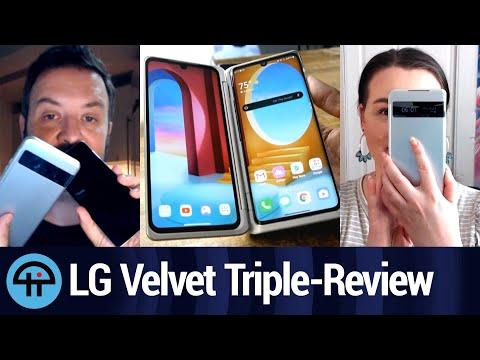 LG Velvet Three-view Review