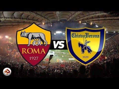 Roma - chievo | diretta live (serie a) 1^ parte