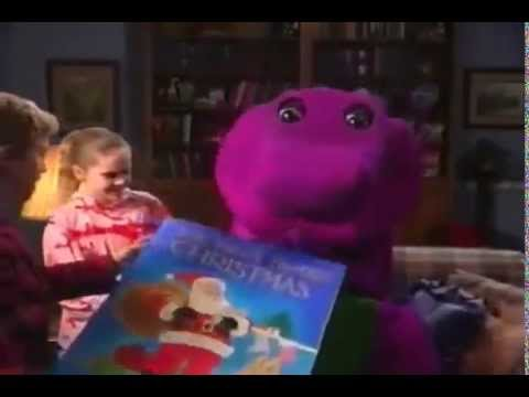 BARNEY TWAS THE NIGHT BEFORE CHRISTMAS (STORY) - YouTube