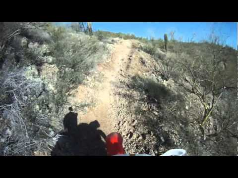 Ride at the Boulders OHV area Arizona on Feb 12 2012